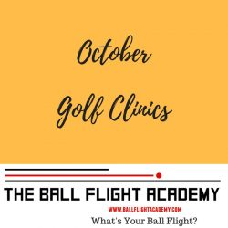 October Golf Clinic Schedule Sarasota