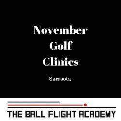 November Golf Clinics in Sarasota