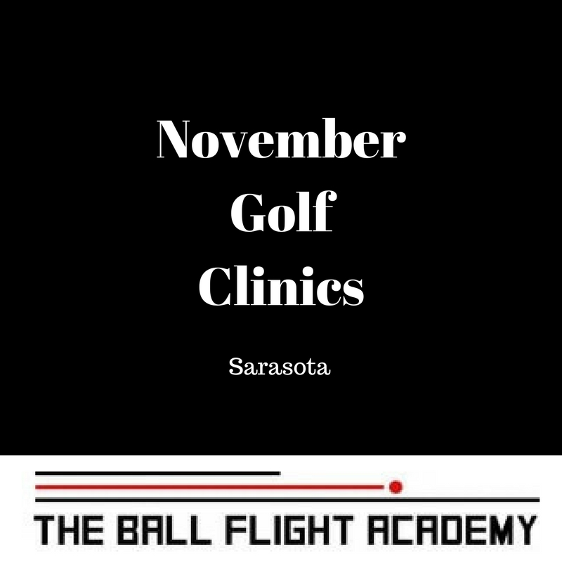 November Golf Clinics in Sarasota