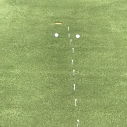 Putting Drill With Tees
