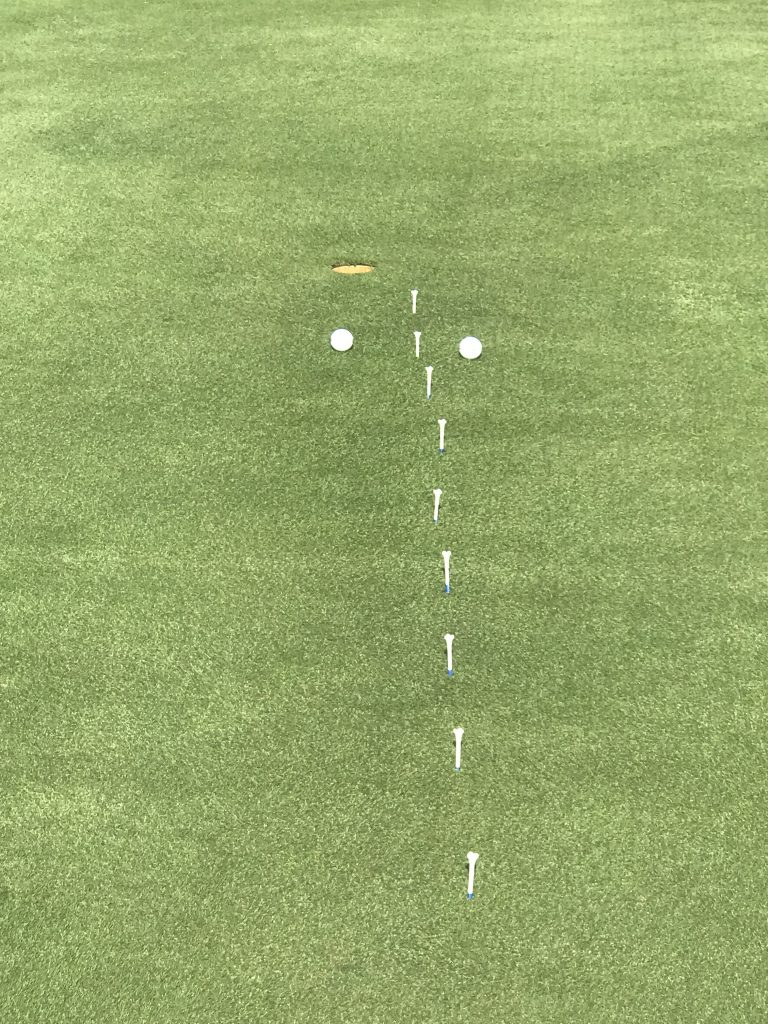Ladder Putting Drill
