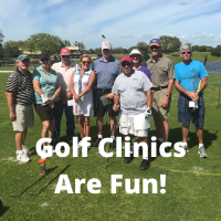Golf Clinics Are Fun