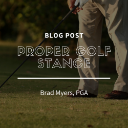 Proper Golf Stance For Swing