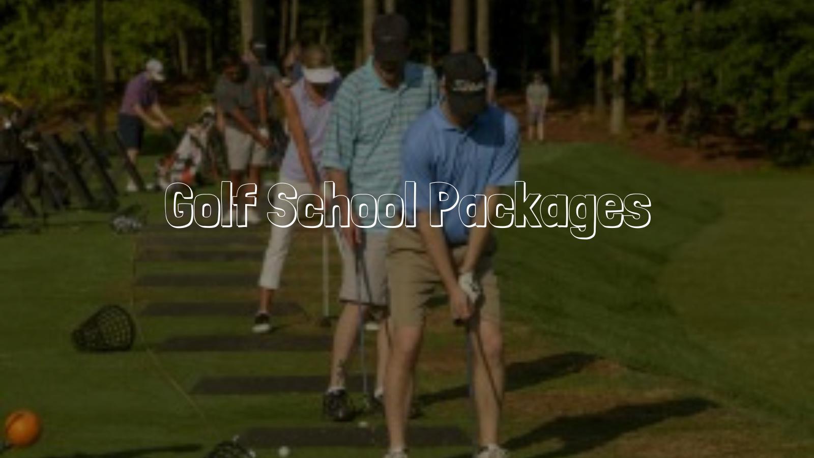Golf School Packages